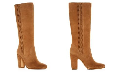 VINCE CAMUTO Women's Coranna Suede High Block-Heel Boots - Bloomingdale's_2