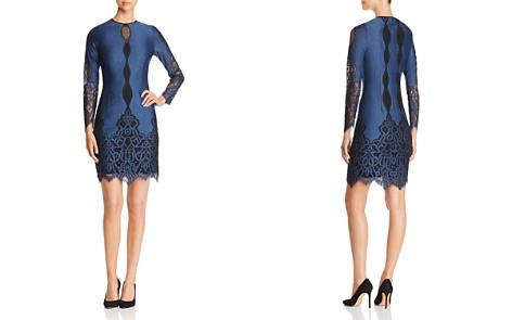 Elie Tahari Pepper Lace Trimmed Dress - Bloomingdale's_2