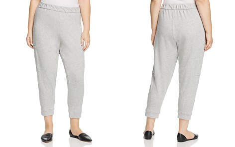 Eileen Fisher Plus Slouchy Jogger Pants - Bloomingdale's_2