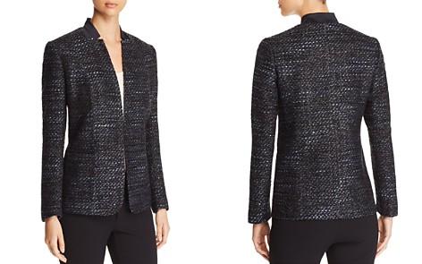 Elie Tahari Tori Metallic Tweed Blazer - Bloomingdale's_2