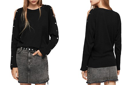 ALLSAINTS Suzie Snap-Sleeve Sweater - Bloomingdale's_2