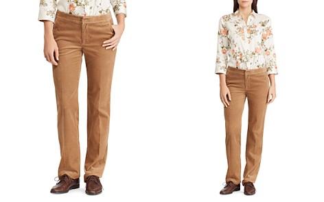Lauren Ralph Lauren Corduroy Straight-Leg Pants - 100% Exclusive - Bloomingdale's_2