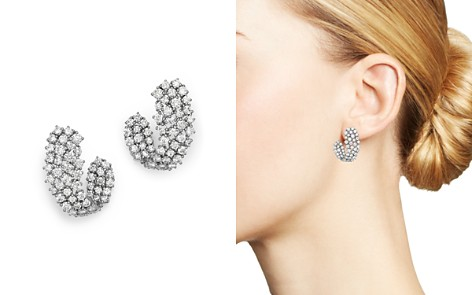 Bloomingdale's Diamond Front-Back Earrings in 14K White Gold, 2.85 ct. t.w. - 100% Exclusive_2