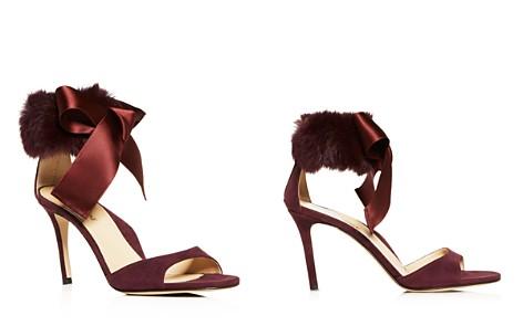 MARION PARKE Women's Lucille Suede & Fur High-Heel Sandals - Bloomingdale's_2
