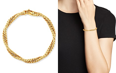 Bloomingdale's Twisted Curb Chain Bracelet in 14K Yellow Gold - 100% Exclusive_2