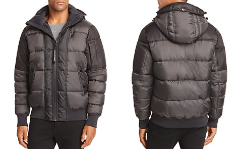G-STAR RAW Whistler Quilted Hooded Bomber - Bloomingdale's_2