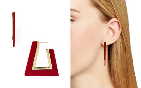 Rebecca Minkoff Triangular Resin Drop Earrings - Bloomingdale's_2