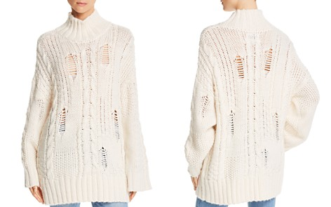 Current/Elliott The Vin Cable Knit Sweater - Bloomingdale's_2