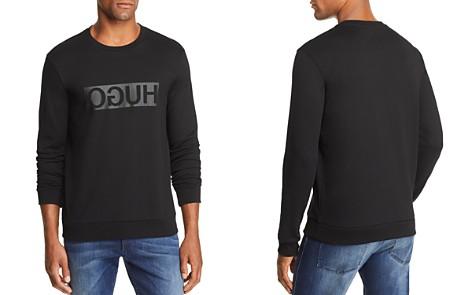 HUGO Dicago Reverse Logo Sweatshirt - Bloomingdale's_2