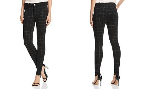 AQUA Windowpane Skinny Pants - 100% Exclusive - Bloomingdale's_2