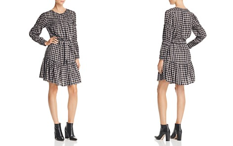La Vie Rebecca Taylor Shirred Plaid Dress - Bloomingdale's_2