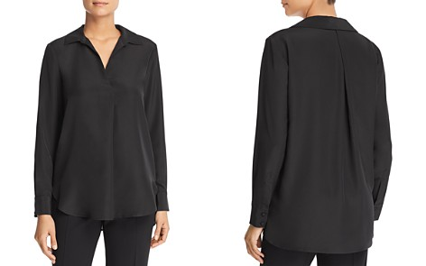 Badgley Mischka Collared Blouse - Bloomingdale's_2