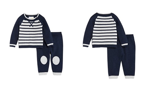 Bloomie's Boys' Striped Sweater & Knit Pants Set, Baby - 100% Exclusive - Bloomingdale's_2