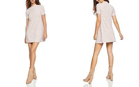 BCBGeneration Striped A-Line Dress - Bloomingdale's_2