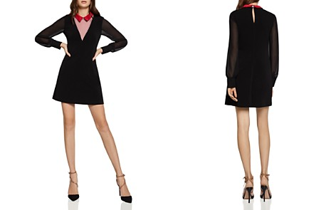 BCBGeneration Layered-Look Collared A-Line Dress - Bloomingdale's_2