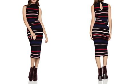 BCBGeneration Striped Midi Sweater Dress - Bloomingdale's_2