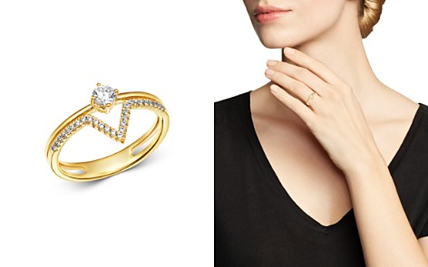 Bloomingdale's Diamond Geometric Ring in 14K Yellow Gold, 0.33 ct. t.w. - 100% Exclusive_2