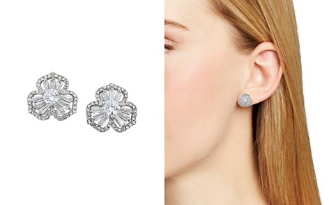 Carolee Pavé Flower Stud Earrings - Bloomingdale's_2