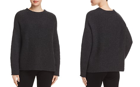 Eileen Fisher Ribbed Cashmere Sweater - 100% Exclusive - Bloomingdale's_2