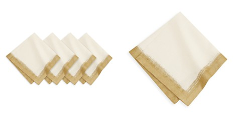 Villeroy & Boch Metallic Brushstroke Napkins, Set of 4 - Bloomingdale's Registry_2