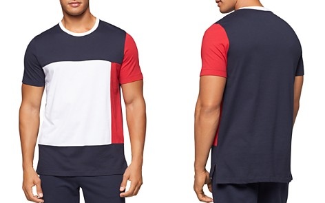 Tommy Hilfiger Color-Block Logo Tee - Bloomingdale's_2