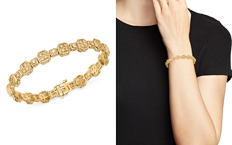 Bloomingdale's Diamond Square Cluster Bracelet in 14K Yellow Gold, 3.0 ct. t.w. - 100% Exclusive_2