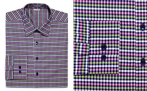 Vardama Vaux Gingham Regular Fit Dress Shirt - Bloomingdale's_2