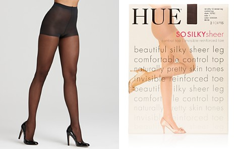 HUE So Silky Sheer Control Top Tights - Bloomingdale's_2