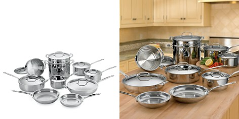 Cuisinart 17-Piece Stainless Steel Cooking Set - Bloomingdale's_2
