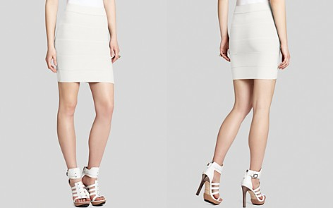 BCBGMAXAZRIA Skirt - Simone Textured Power - Bloomingdale's_2