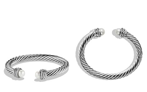 David Yurman Crossover™ Bracelet with Pearls and Diamonds - Bloomingdale's_2