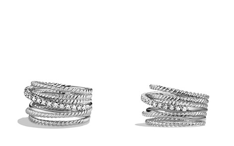 David Yurman Crossover Wide Ring with Diamonds - Bloomingdale's_2