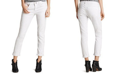 rag & bone/JEAN The Dre Slim Boyfriend Jeans in Aged Bright White - Bloomingdale's_2