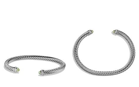 David Yurman Cable Classics Bracelet with Prasiolite & Diamonds - Bloomingdale's_2