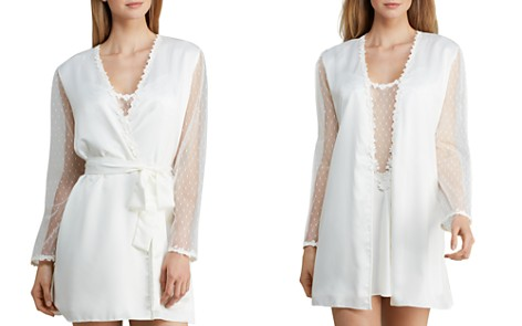Flora Nikrooz Showstopper Charmeuse Cover-Up Robe - Bloomingdale's_2