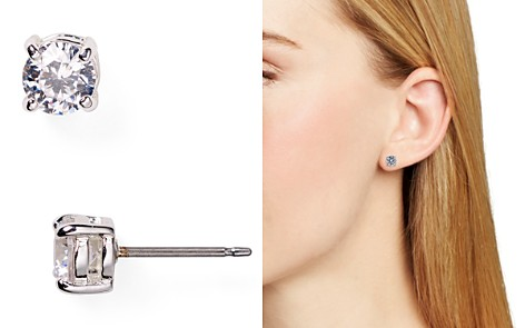 Lauren Ralph Lauren Cubic Zirconia Stud Earrings, 5mm - Bloomingdale's_2