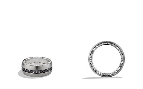 David Yurman Streamline Wide Band Ring with Black Diamonds - Bloomingdale's_2