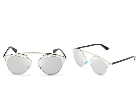 Dior So Real Mirrored Sunglasses, 48mm - Bloomingdale's_2