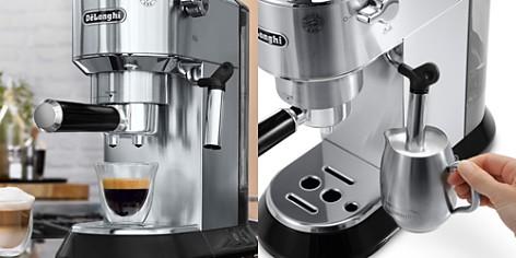 "De'Longhi Dedica Stainless Steel 6"" Mini Pump Espresso/Cappuccino Maker - Bloomingdale's_2"