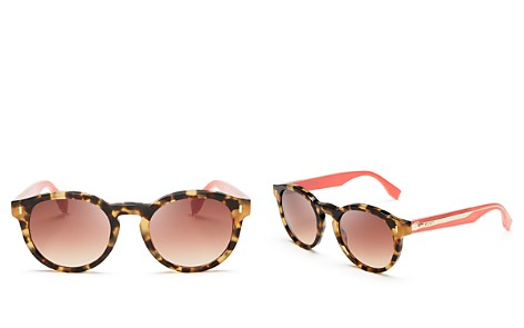 Fendi Women's Round Sunglasses, 50mm - Bloomingdale's_2