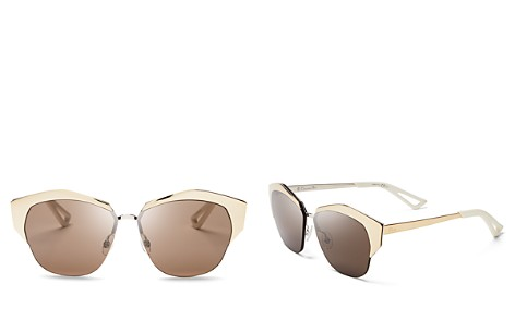 Dior Mirrored Round Sunglasses, 55mm - Bloomingdale's_2