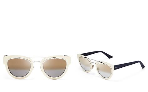 Dior Women's Mirrored Chromic Cat Eye Sunglasses, 42mm - Bloomingdale's_2