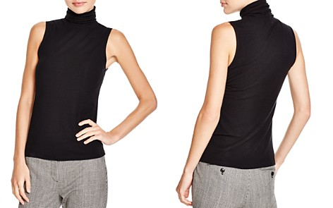 Theory Wendel Sleeveless Turtleneck Top - Bloomingdale's_2