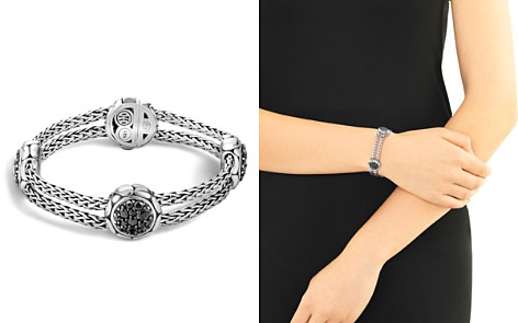 John Hardy Kali Sterling Silver Pure Lava Fire Four Station Bracelet with Black Sapphire - Bloomingdale's_2