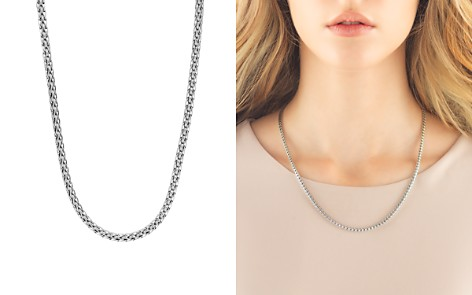 """John Hardy Sterling Silver Classic Chain Slim Necklace, 18"""" - Bloomingdale's_2"""