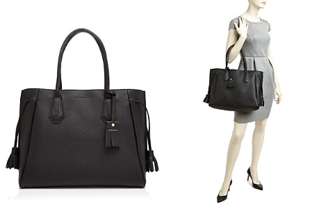 Longchamp Penelope Leather Shoulder Tote - Bloomingdale's_2