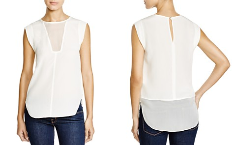 Rebecca Taylor Charlie Silk Top - Bloomingdale's_2