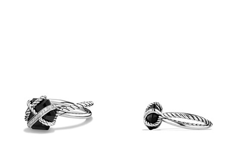 David Yurman Petite Cable Wrap Ring with Black Onyx and Diamonds - Bloomingdale's_2
