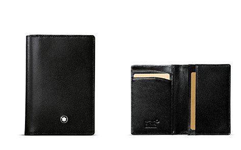 Montblanc Meisterstück Leather Business Card Holder with Gusset - Bloomingdale's_2