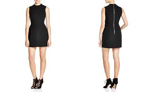 FRENCH CONNECTION Sundae Solid Mini Dress - Bloomingdale's_2